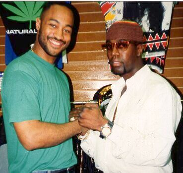 Aaron Hall and Darryl McCray