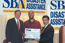 Darryl McCray and Gov. Pataki