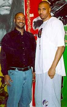 Darryl McCray and Kenyon Martin