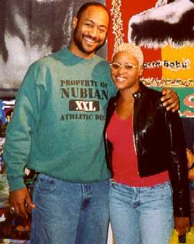 Eve from the ruff ryders and Darryl McCray